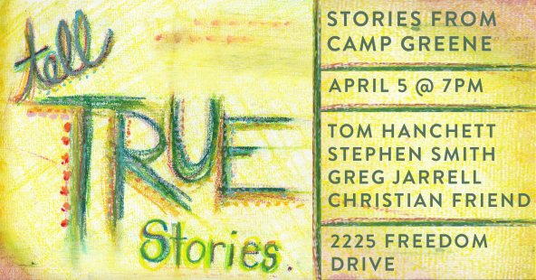 Tell True Stories - Week 1